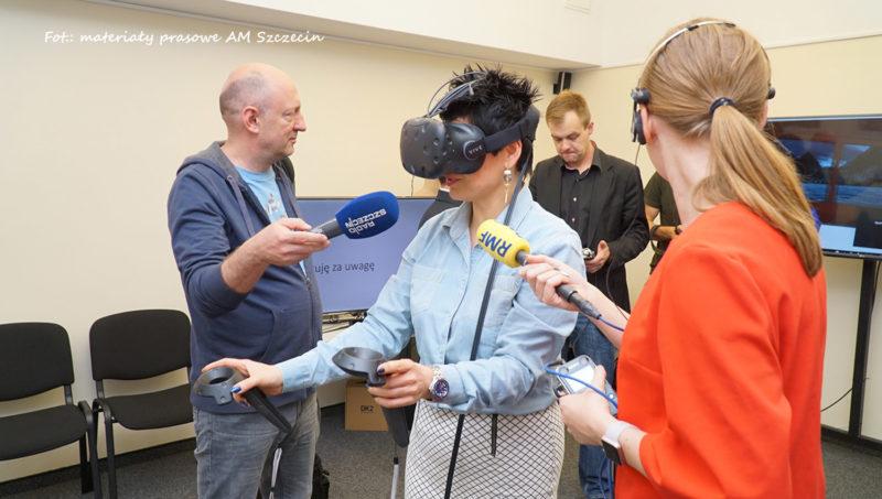 VR Na Akademii Morskiej Fot MateriaÅ'y Prasowe AM Szczecin