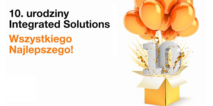 Integrated Solutions – dostawca rozwiązań IT z grupy Orange – ma już 10 lat