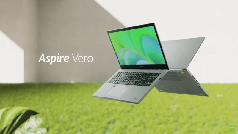 Acer Aspire Vero - pierwszy na świecie laptop stworzony z recyklingu trafi do sprzedaży pod koniec tego roku