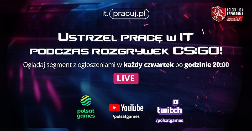 Praca w IT do ustrzelenia w Polskiej Lidze Esportowej