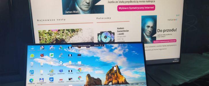 mateview bezprzewodowy ekran1