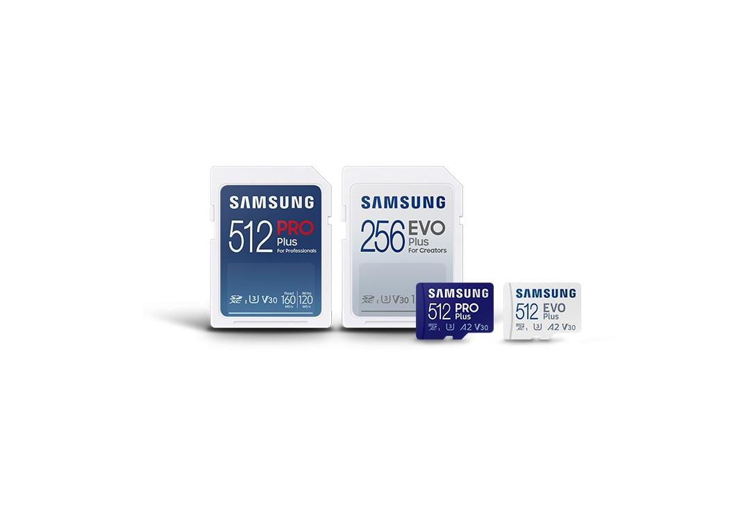 Samsung prezentuje nową generację kart microSD i SD z serii PRO Plus i EVO Plus