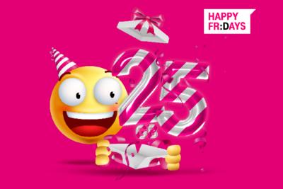 Urodzinowe Happy Fridays: odbierz 25 GB na 25-lecie T-Mobile Polska