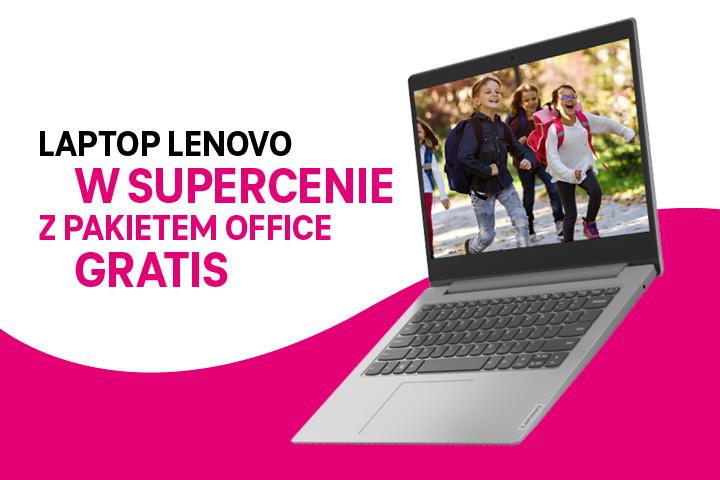 Powrót do szkoły z T-Mobile – laptop Lenovo w najlepszej cenie na rynku i Office 365 w prezencie