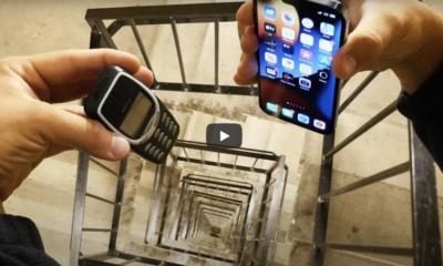 iPhone 13 Pro porównano do Nokii 3310 pod względem wytrzymałości – wynik walki dosyć nieoczekiwany