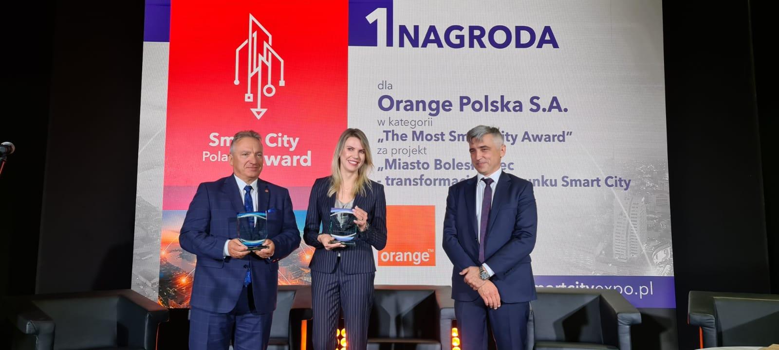 Smart City Poland Award – dwie nagrody dla Orange Polska
