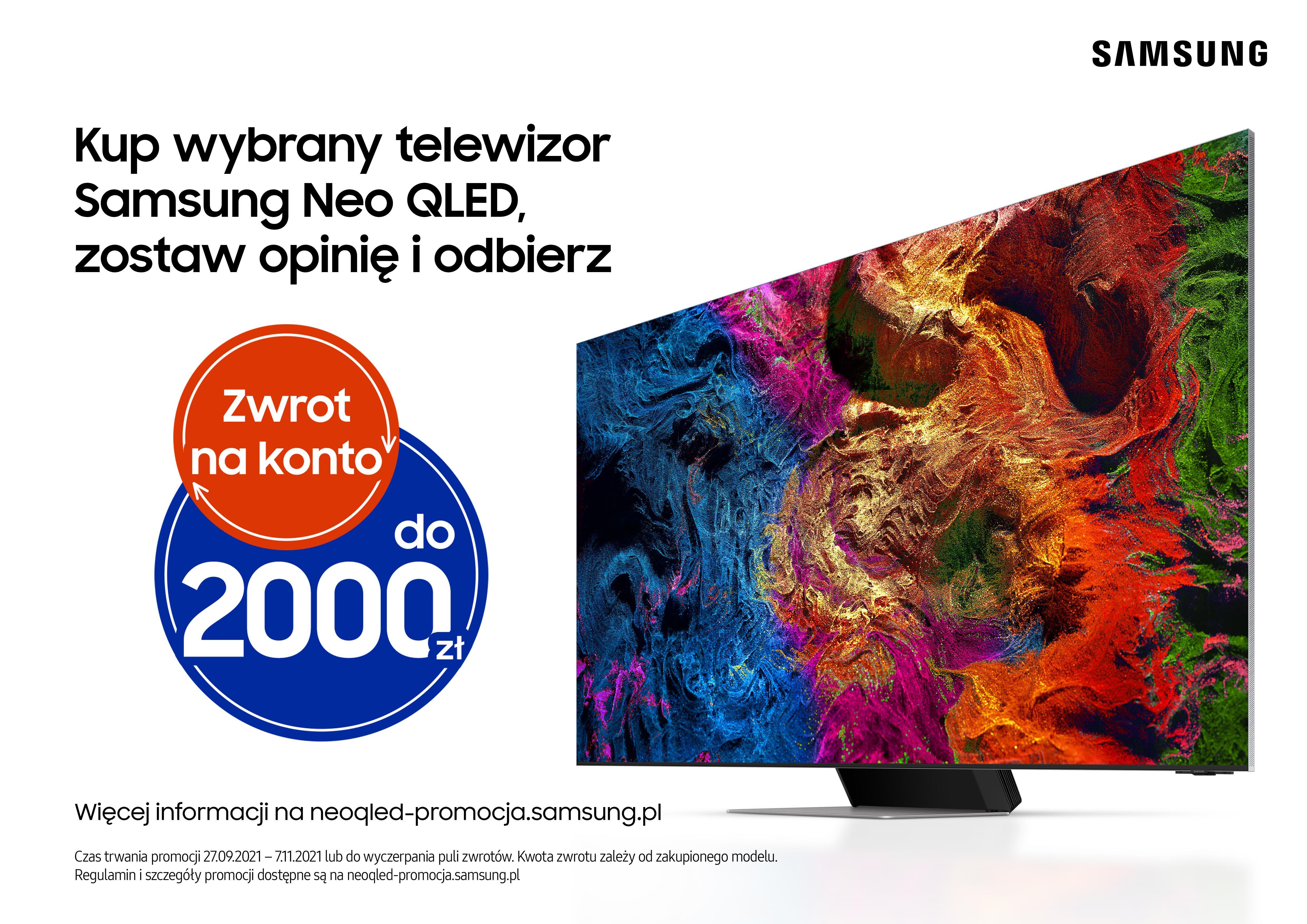 """Polacy wybierają telewizory Neo QLED o przekątnej 65"""""""