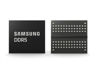 Samsung rozpoczyna masową produkcję najbardziej zaawansowanych pamięci DDR5 DRAM 14nm EUV