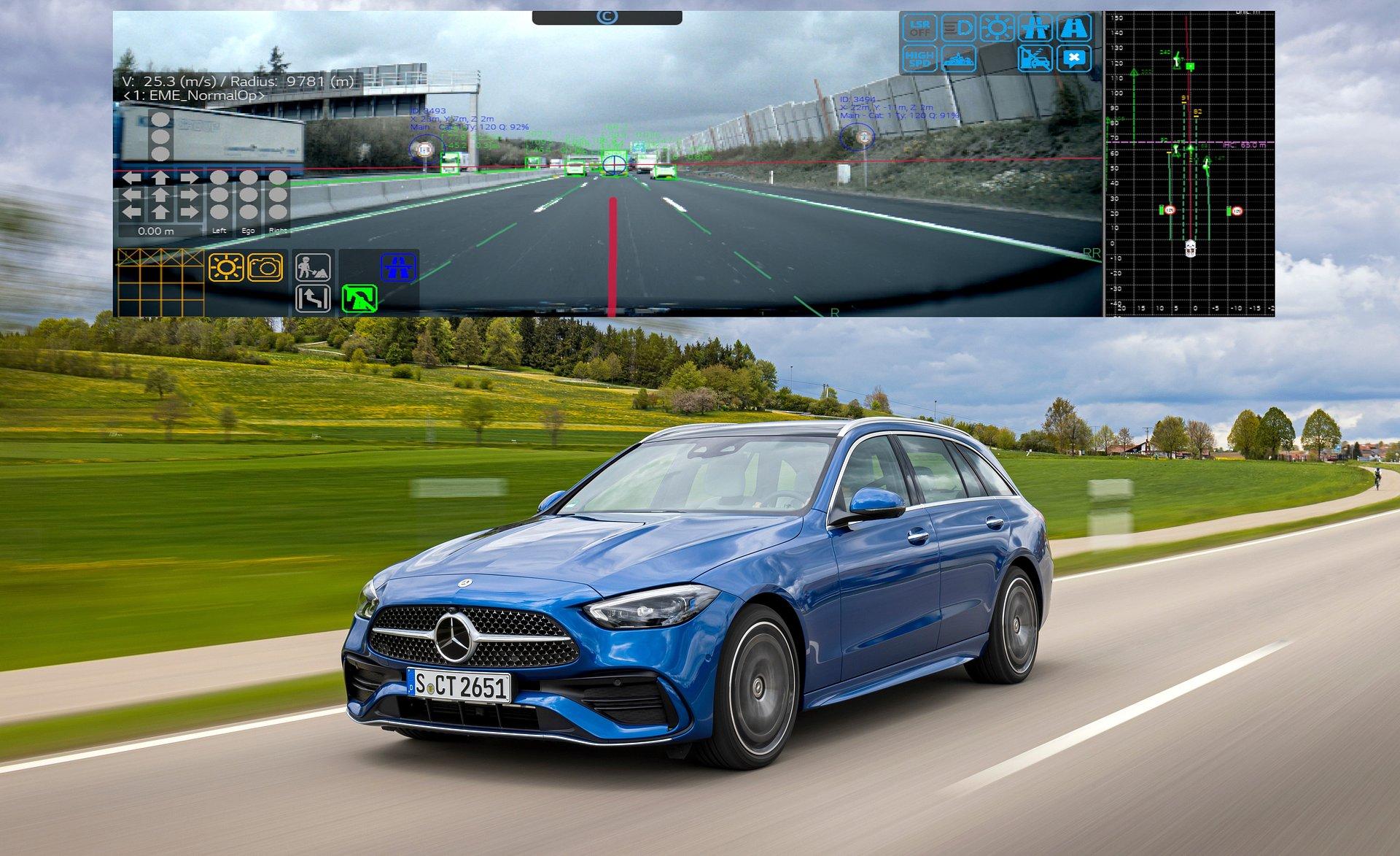 Opracowany w LG moduł kamery z systemem ADAS zwiększa bezpieczeństwo kierowcy i pasażera w nowym modelu Mercedes-Benz klasy C