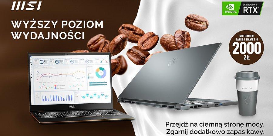 Promocja na laptopy MSI z serii Modern, Prestige, Summit i Creator
