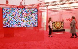 Firma LG prezentuje w londynie projekty artystyczne inspirowane technologią OLED