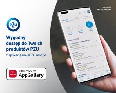 mojePZU dla wszystkich użytkowników telefonów Huawei