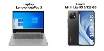 Laptop Lenovo i smartfon Xiaomi taniej w Ofercie Tygodnia