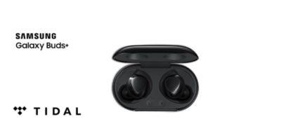 Darmowy dostęp do Tidal Premium przy zakupie słuchawek Galaxy Buds+