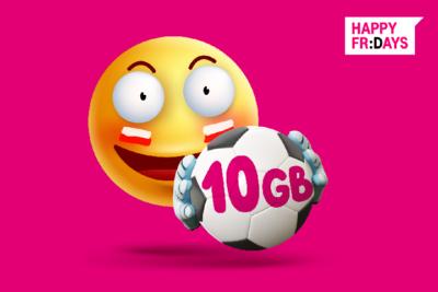 Sportowe emocje w T-Mobile – odbierz 10 GB na mecze Biało-Czerwonych